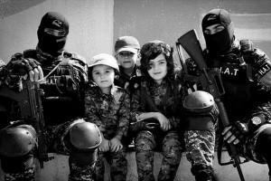 HAT Forces spéciales de la police du Rojava